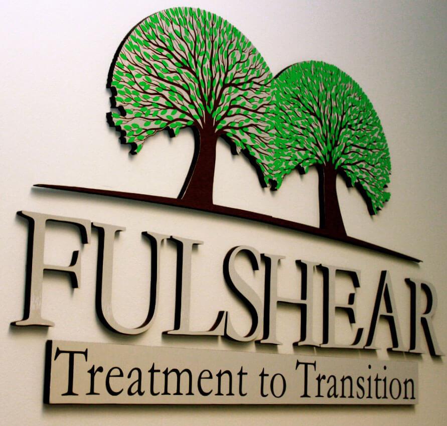 Fulshear logo on wall