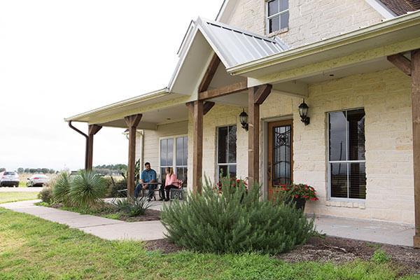 exterior at the ranch