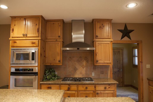 kitchen at the ranch